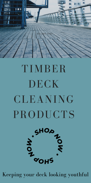 Timber Deck Cleaning Products